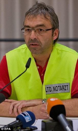 Senior emergency doctor Peter Seyerlein