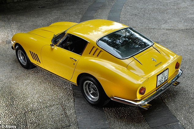 The Ferrari 275 was a V12-engined two-seater designed by Pininfarina. This is the GTB coupe.