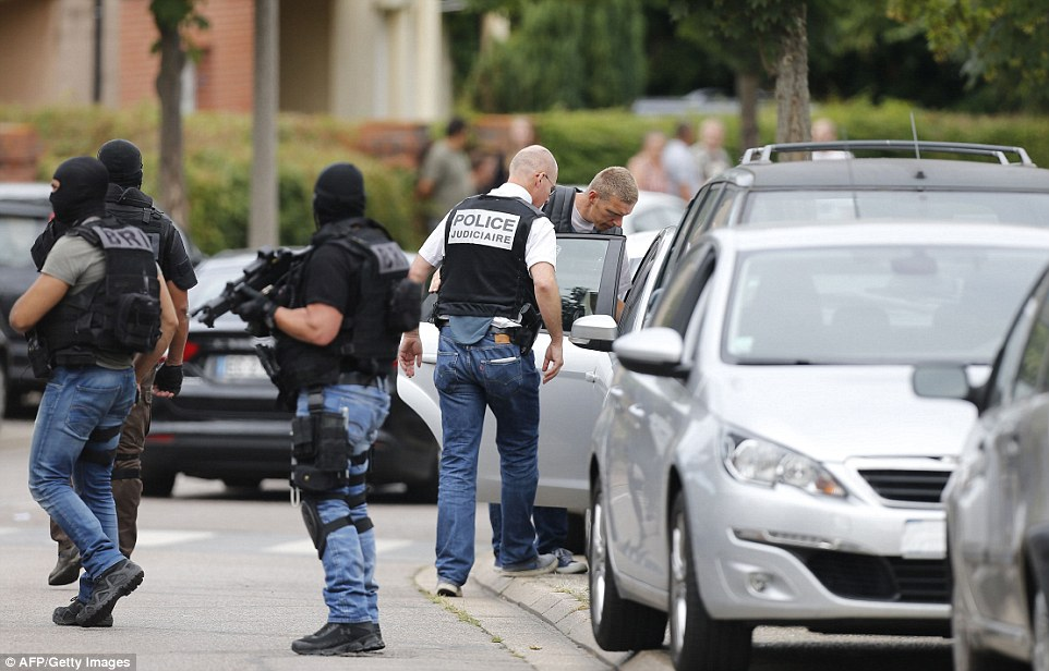 French authorities are trying to determine whether the two men involved in the sickening attack had accomplices