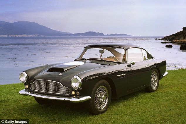 Aston Martin's DB4 was shown at the London Motor show in 1958 and 1,185 were made until 1963