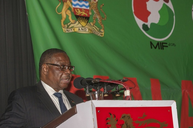 Malawi's President Peter Mutharika, pictured, ordered the arrest of a man, who described himself as a hyena, and was  paid by families to have sex with adolescent girls to help them transition into adulthood