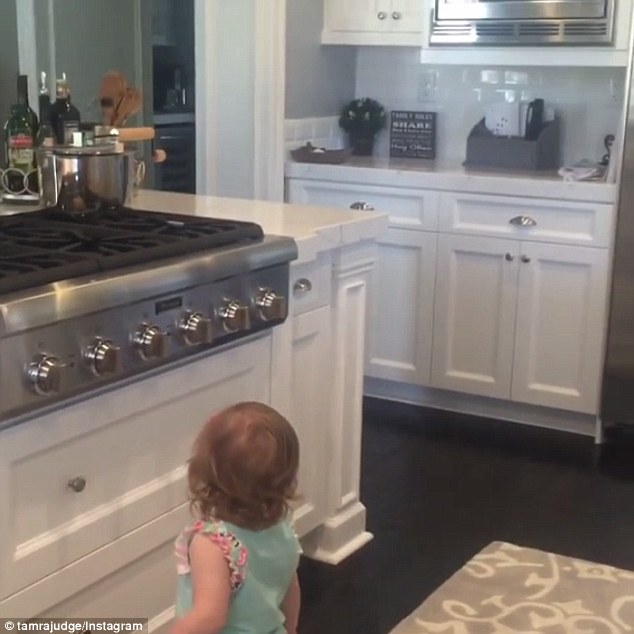 kitchen facelift before and after stainless steel cabinets for sale rhoc's tamra judge keeps up with her squad as she shows ...