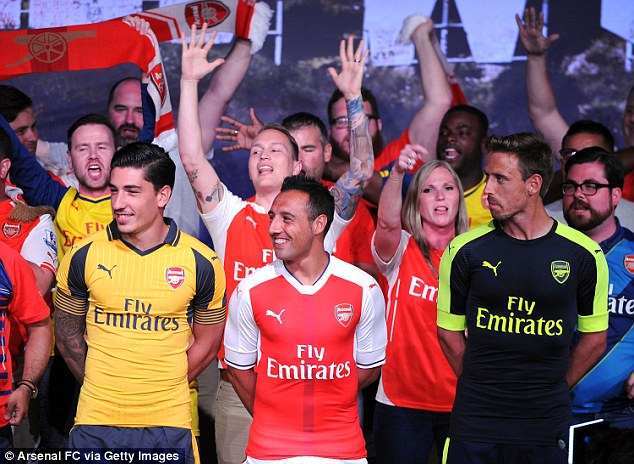 Arsenal Fodboldtrøje 2016/17