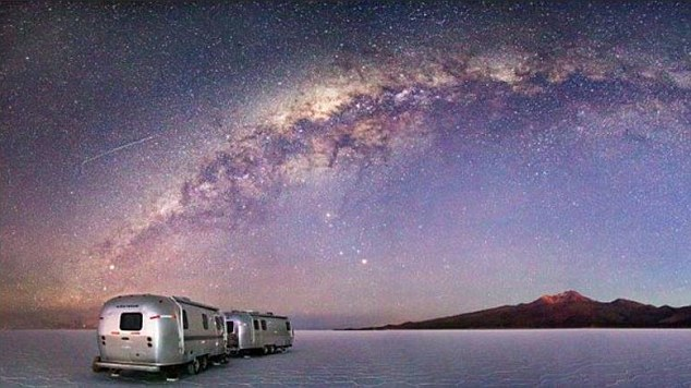 This deluxe caravan on Bolivia's Uyuni Salt Flats comes with a private chef and guide to show you around