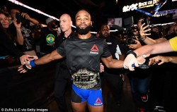 Image result for tyron woodley belt