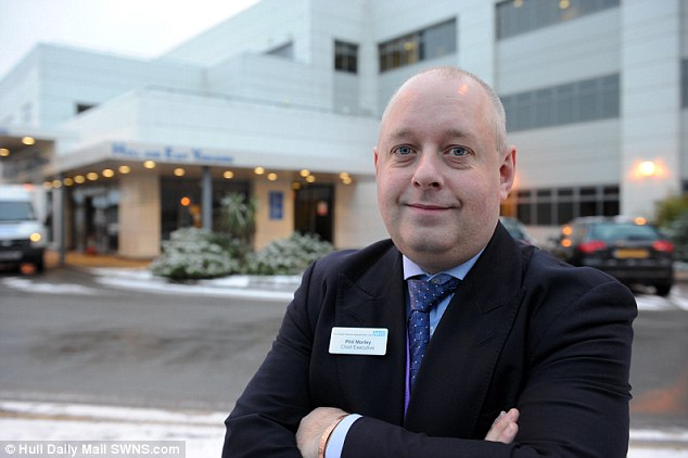Phil Morley, former Chief Executive of Hull and East Yorkshire Hospitals NHS Trust