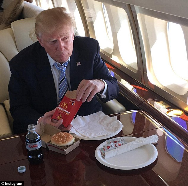 Image result for trump kfc