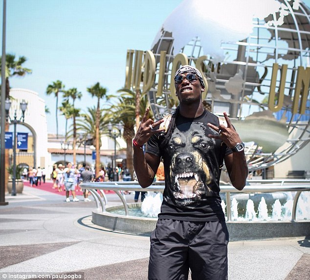 Pogba is set to head to Old Trafford for a new world record fee of £100million