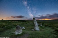 Perseids meteor shower lights up the sky in Dartmoor ...