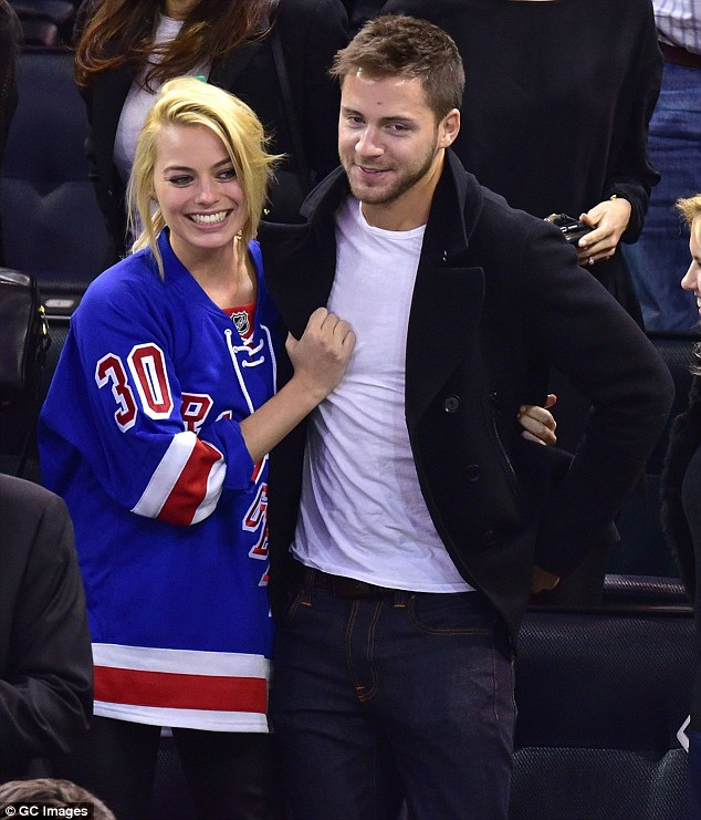 Image result for margot robbie and tom