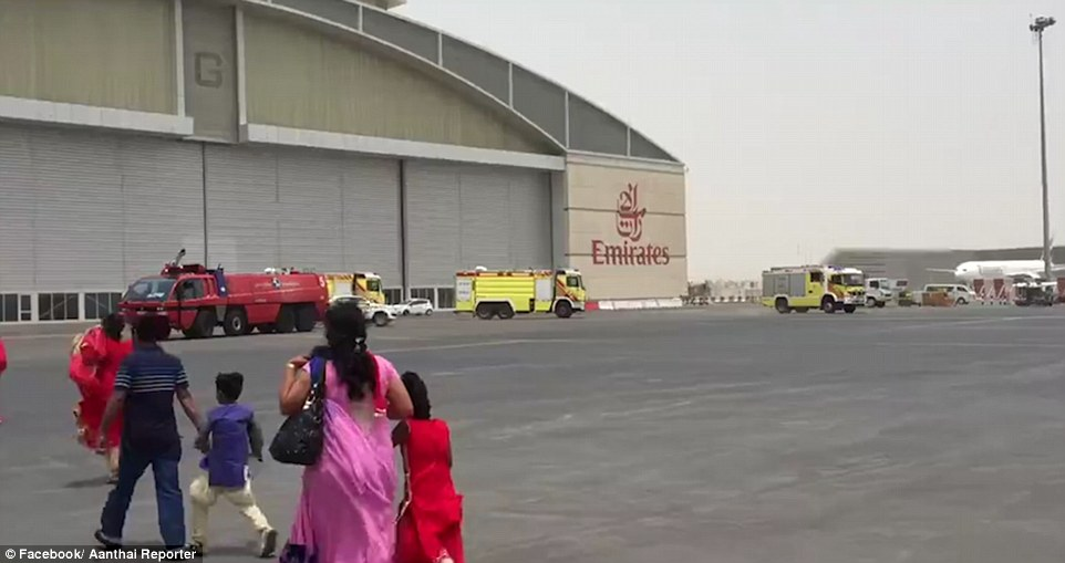 All 300 on board, including 24 Britons and 18 crew, were led to safety at Dubai International Airport, minutes before the Boeing 777 was completely destroyed in a massive fireball