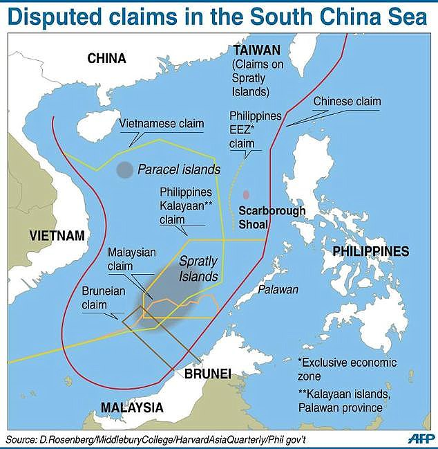 China was found to haveviolated the Philippines' maritime right by erecting artificial islands which decimated natural coral reefs and disrupted both fishing and oil exploration
