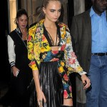 Cara Delevingne Can't Get Enough Of Her Christian Louboutin Boots