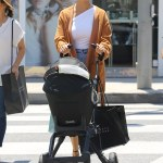 Chrissy Teigen & Baby Luna Step Out In LA