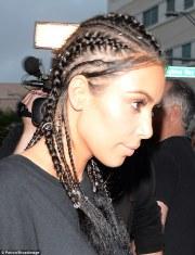 kim kardashian steps in racy