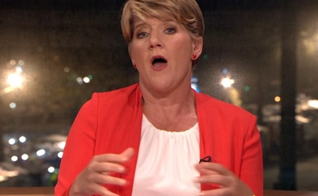 Clare Balding Appears Without Her Wedding Ring On The Bbc
