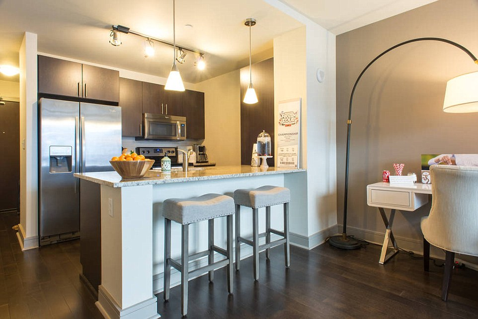 Nastia Liukin, winner of five medals for the US, including a gold medal in Beijing, has put her Boston apartment up for rent on AirBnB