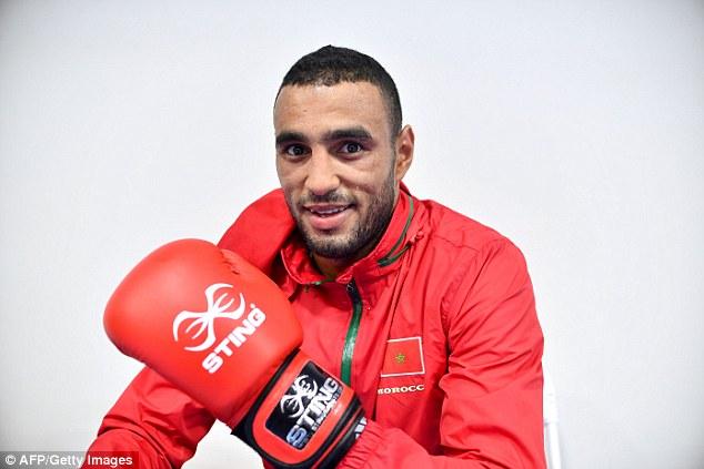 La nueva acusación se produce menos de una semana después de atleta marroquí, Hassan Saada, en la foto, fue detenido como sospechoso de un crimen similar en la Villa Olímpica