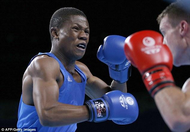 El luchador, se debe competir el jueves contra el boxeador francés Hassan Amzille en la categoría de peso welter ligero, pero puede ahora no se le permitirá hacerlo