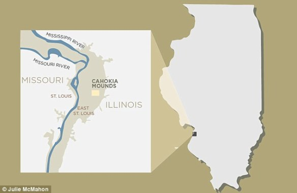 Almost 50 years ago, archaeologists excavating the pre-Columbian Native American city, Cahokia discovered a mass burial site with an unusual central feature. The city sits just outside of what is now St. Louis