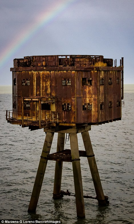 Charity Project Redsands to protect the future of the forts