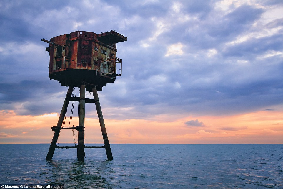 She described the Maunsell forts as an 'important part of history' and said their 'incredible design' should be preserved