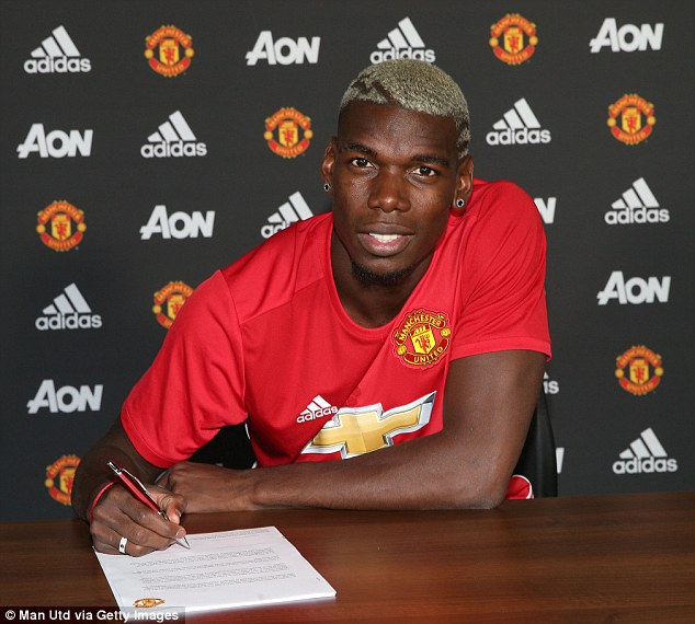 Paul Pogba has signed a five-year contract to re-join Manchester United from Juventus