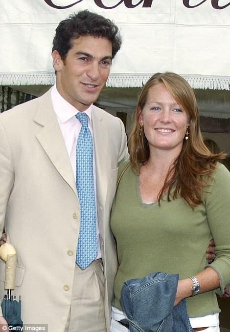The eldest of the Grosvenor siblings, Lady Tamara, 36, pictured with her husband Edward Van Cutsem