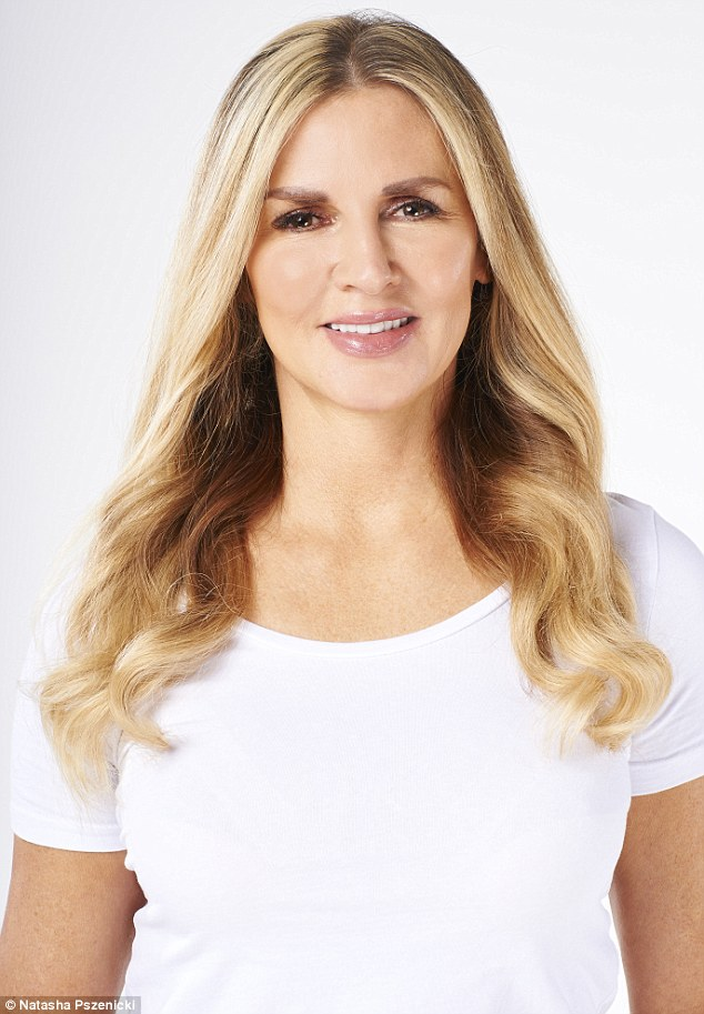 Claire Woodward, 41, is a personal trainer. She lives in Chelsea, London. She goes to a salon in Kensington for her extensions, which cost up to £800 a time, and are changed twice a year, with touch-ups every 12 weeks