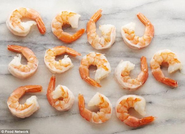 13 prawns is enough for one portion