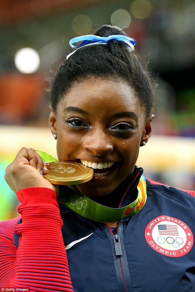 Iphone Wallpaper For Teenage Girl Simone Biles Overcame Appalling Childhood To Win Olympic