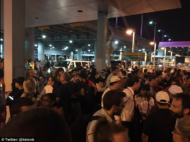 Police are responding to reports of shots being fired inside JFK Airport's Terminal 8
