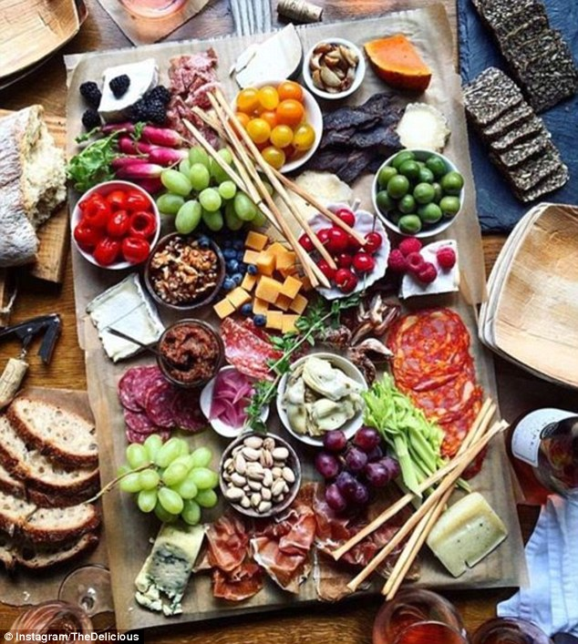 Craze Sweeps Instagram For Artistic Cheese And Charcuterie