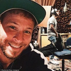 Behind The Chair Show 2019 Custom Dining Chairs Toronto Nick Carter Takes Son Odin To Studio While Recording For New Album | Daily Mail Online
