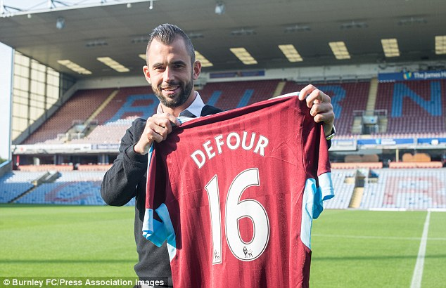 Image result for steven defour burnley