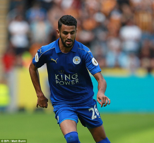 Riyad Mahrez says he is happy with Leicester but would consider Real Madrid or Barcelona
