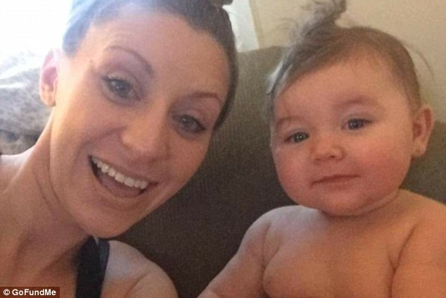 ErikaPoremski and her daughter, Viviana Claire, both suffered burns in the fire, Viviana on 20 percent of her body