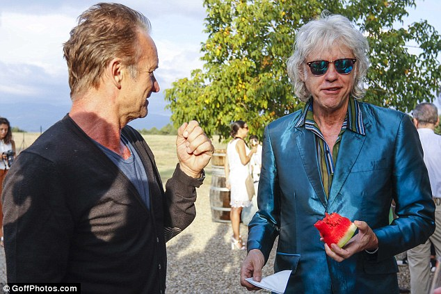 Sting and Trudie Styler host sophisticated soiree for showbiz pals at their Tuscan villa  Daily