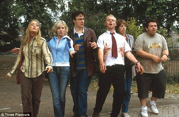 Zombies wouldn't be able to recognise faces so they identify each other by movements and sounds. 'If confronted with a herd of the undead with no clear avenue of escape, do what Shaun and his friends did in 'Shaun of the dead' – act like a zombie, the experts said
