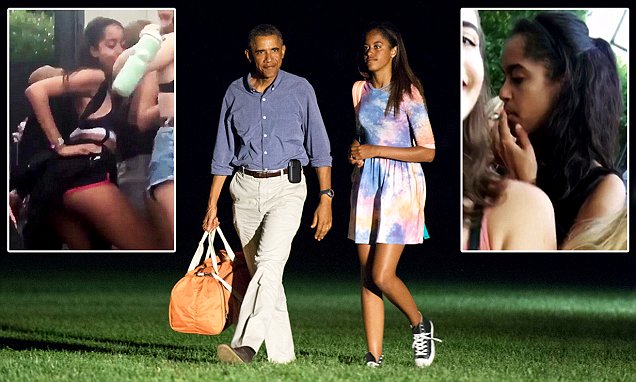 Malia Obama was reportedly a guest at a wild party on Martha's Vineyard