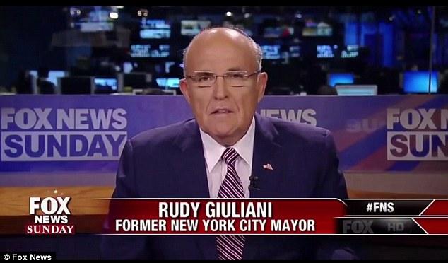 This morning on 'Fox News Sunday' former New York City Mayor Rudy Giuliani renewed rumors that something is wrong with Hillary Clinton's health