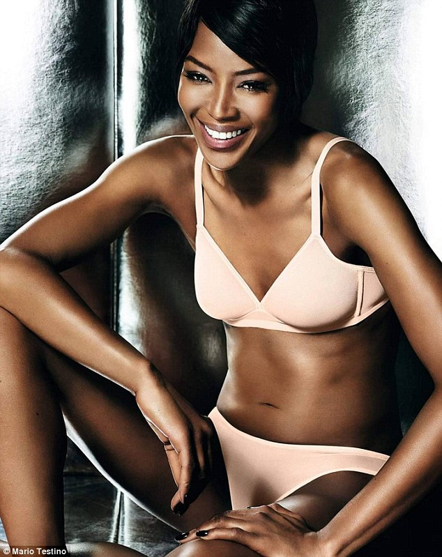 Ad Campaign Naomi Campbell