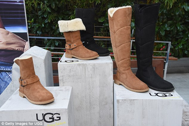 New range: There were plenty of Ugg's comfortable footwear on display