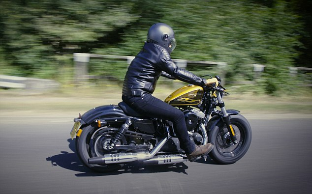 harley turns petrol into noise ford wiring harness diagram we test the davidson forty eight it has its flaws but you road hog is s answer to a stripped