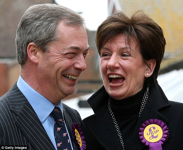 Mrs James, is a close associate of current Ukip leader Nigel Farage.  She worked in private healthcare firms for several decades before becoming an independent local councillor in Waverley, Surrey, ten years ago