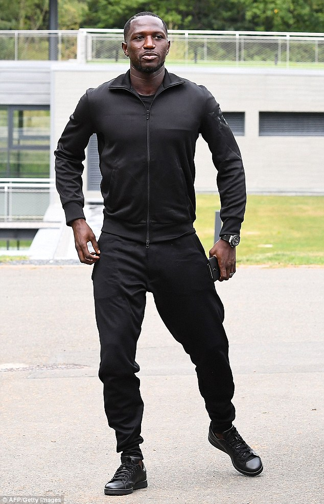 Newcastle's Moussa Sissoko took a leaf from Kanye West's book and wore 'all black everything'