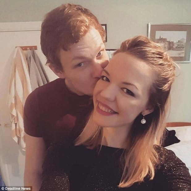 Mrs Graham, who taught French at Whitburn Academy, West Lothian but has now moved abroad, is alleged to have spent three hours alone with him, drinking, sharing a bed and 'repeatedly engaged in sexual activity'. She is pictured with her husband Andrew Wilkie