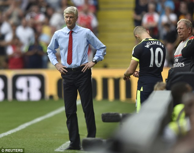Arsene Wenger will consider loan moves for the 24-year-old England midfielder