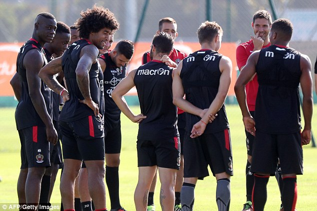 Balotelli was made to train with Liverpool's youth team as Jurgen Klopp looked to move him on