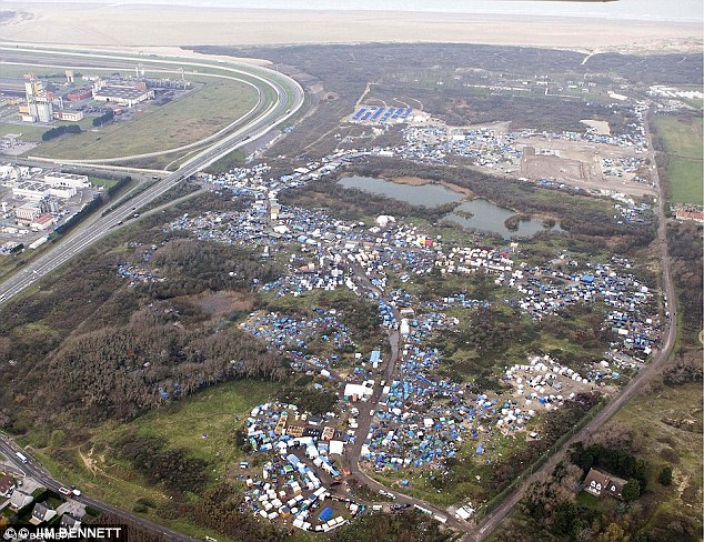 The attack occurred near the jungle camp in Calais where about 9000 refugees live. Drivers who regularly use the French port say migrants are resorting to increasingly desperate and hostile measures to get to the UK